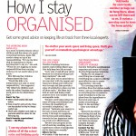 The West Australian Newspaper Mind and Body 5 February 2013 150x150 How I stay Organised